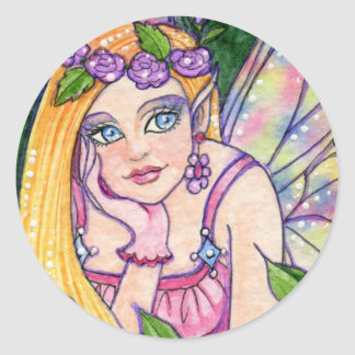 Sticker Butterfly Flower Fairy Fantasy Ann Howard