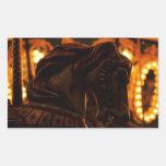 Sticker Carousel Horse @ Night Mystery Suspense