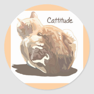 Sticker- Cattitude