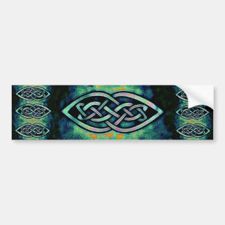 Sticker, celtic knot, Celtic knot, mystic Bumper Sticker