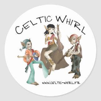 Sticker Celtic Whirl by 20