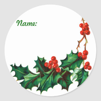 Sticker - Christmas Gift Tag