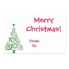 <Sticker> Christmas Tag