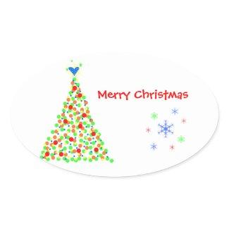 Árbol de Navidad - Sticker