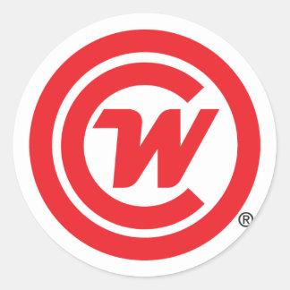 Sticker - CLUBWAKA Logo Icon
