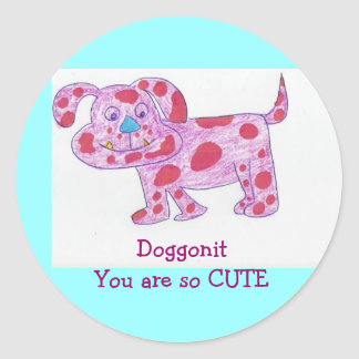 Sticker DoggonitYou are so CUTE