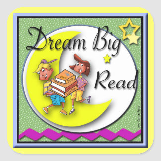 Sticker - Dream Big Read