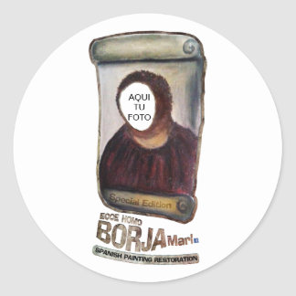 Sticker Ecce Homo Personalizable