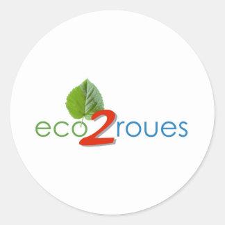Sticker eco -2roues