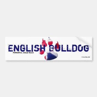 Sticker English Bulldog