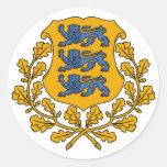 Sticker - Estonian Crest/Eesti Vapp