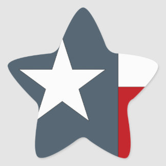 Sticker Faded Blue Lone Star Flag State Texas Tex