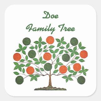 Sticker Family Tree Genealogy Scrapbooking Craft
