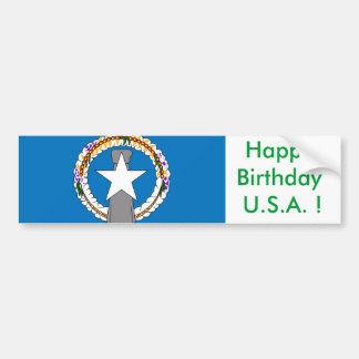 Sticker Flag of Northern Mariana Islands