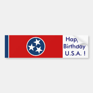 Sticker Flag of Tennessee