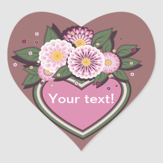 Sticker  floral design