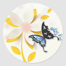 Sticker flower/ Butterfly