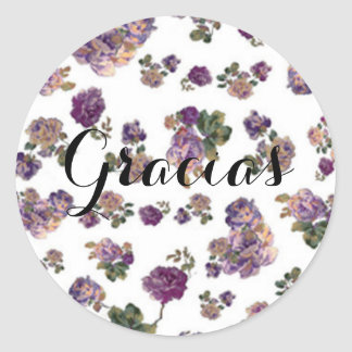 sticker flowers lilacs of thanks