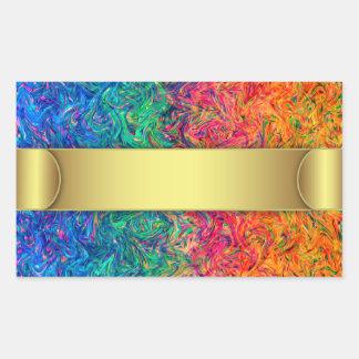 Sticker Fluid Colors