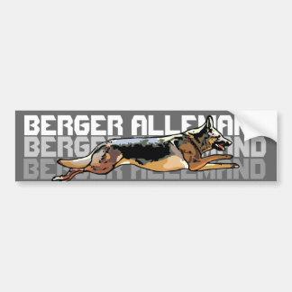 sticker for car German shepherd