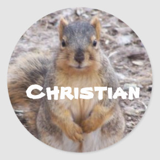 sticker for name: Christian