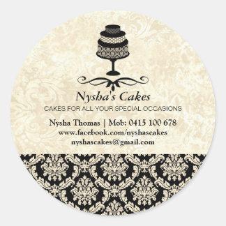 Sticker for Nysha's Cakes