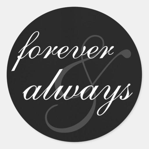 Sticker - Forever & Always