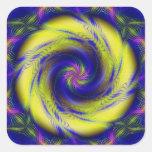 Sticker Fractal Spiral Vortex