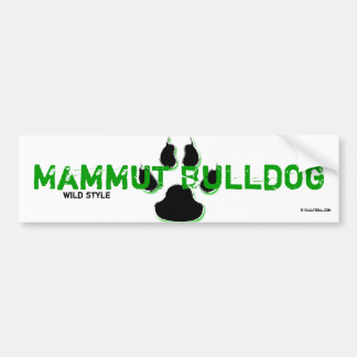 Sticker giant Bulldog