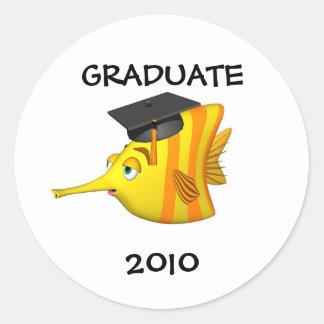 Sticker-Graduate 2009 Classic Round Sticker