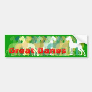 Sticker great dane