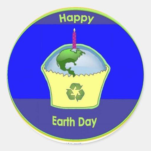sticker - Happy Earth Day