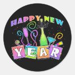 Sticker - HAPPY NEW YEAR!