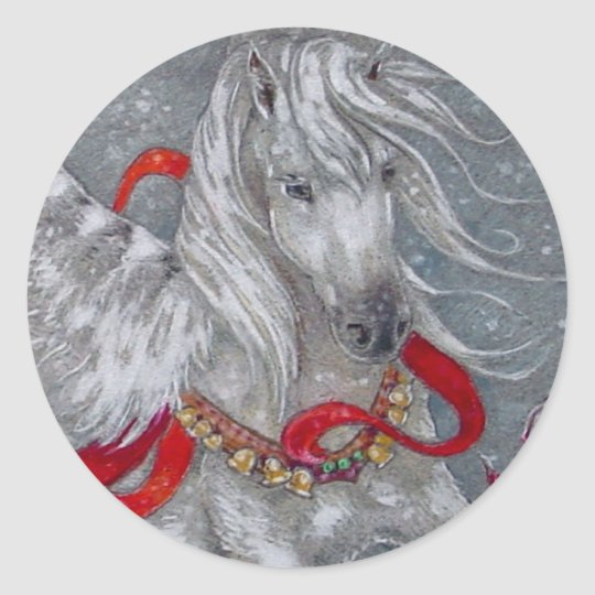 Sticker - Holiday Pegasus