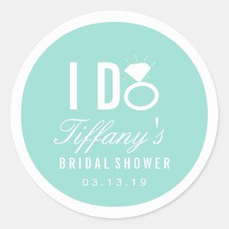 Sticker - I DO Bridal Shower