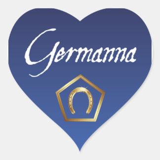Sticker: I Love Germanna
