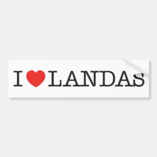 Sticker I Love Moors
