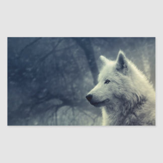 Sticker image wolf