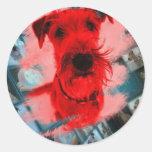 """Sticker """"Irish Terrier"""""""