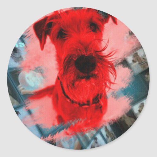 """Sticker """"Irish Terrier """""""