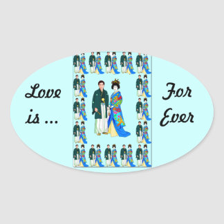 Sticker _Japanese couple