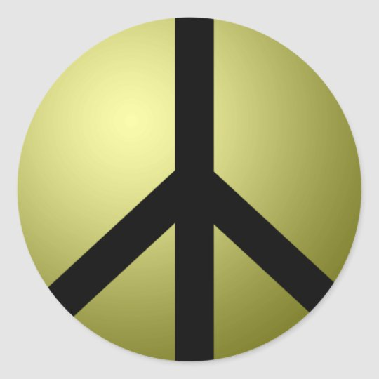 Sticker Large, 3 Inch (sheet of 6) Peace Customize