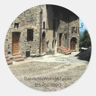 Sticker - Living in San Gimignano