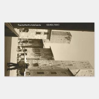 Sticker -  Lost in San Gimignano