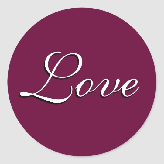 "Sticker ""Love"" Custom"