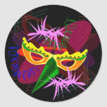 Sticker-Mardi Gras