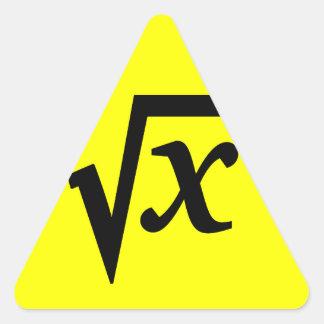 Sticker Math Square Root
