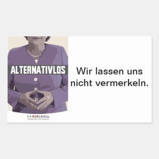 Sticker Merkel
