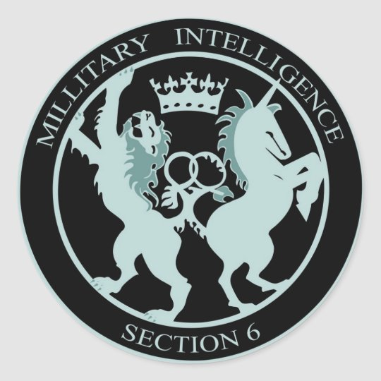 Sticker Military Intelligence section 6