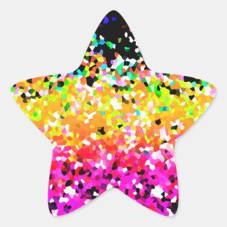 Sticker Mosaic Sparkley Texture
